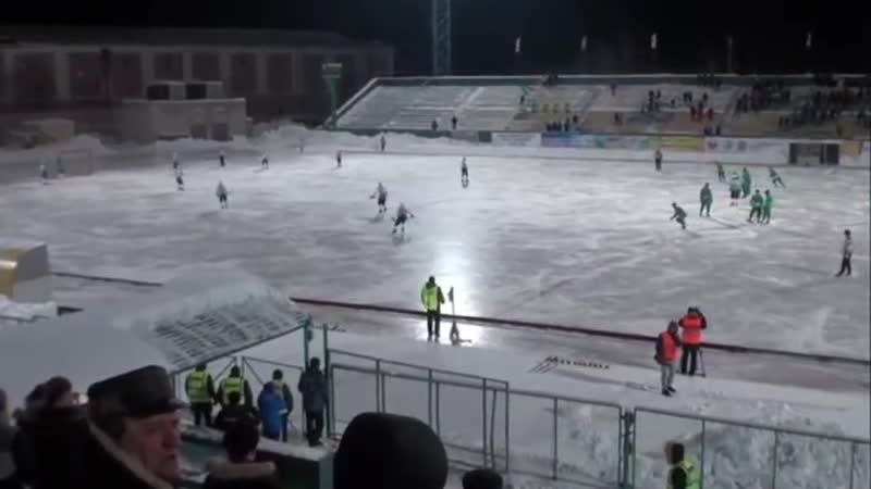 Знаменитый матч «Водник» Архангельск - «Байкал-Энергия» Иркутск 26.02.2017