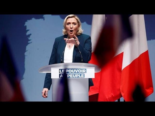 Européennes 2019 le Rassemblement national lance sa campagne