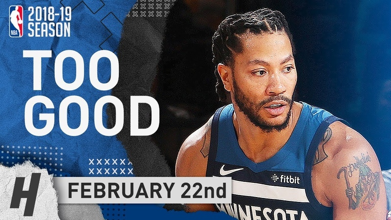 Derrick Rose NASTY Full Highlights Wolves vs Knicks 2019.02.22 - 20 Points at MSG!