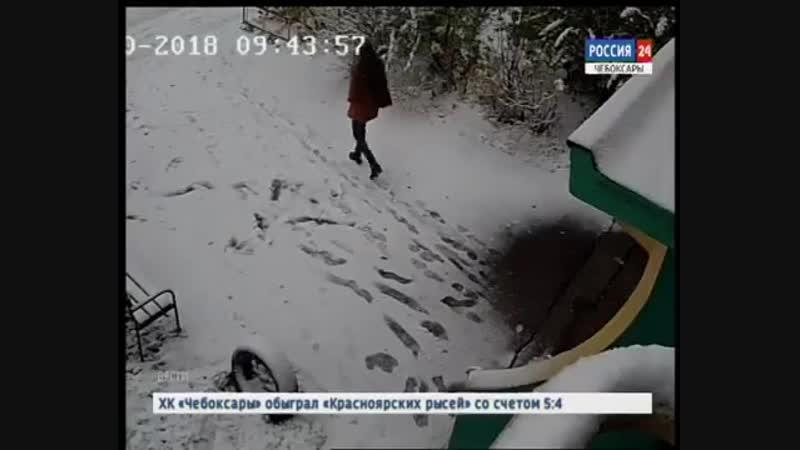 В Чебоксарах полицейские задержали молодого человека, напавшего на пожилого мужч
