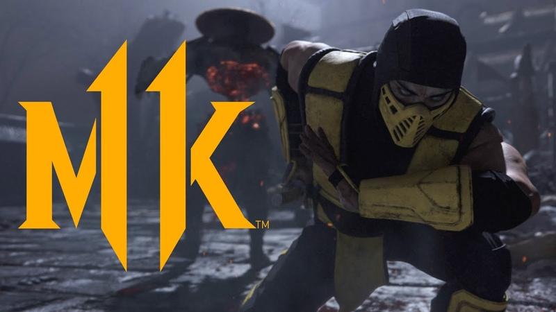 Оху*нный трейлер «Mortal Kombat XI».