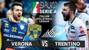 Trentino vs Verona   Highlights   Lega Pallavolo Serie A   Italian Volleyball League
