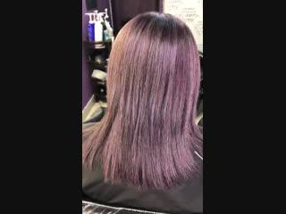 После (чуть фиолетового
