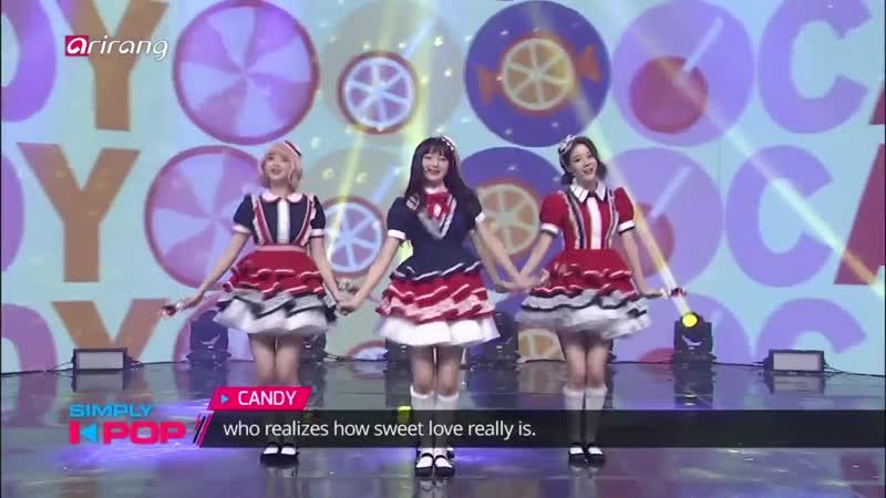 G reyish Candy @ Simply K pop 190118
