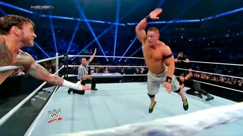 WWE John Cena and CM Punk vs Roman Reigns, Dean Ambrose and Seth Rollins Full Match HD