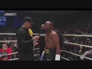 Флойд Мейвезер vs Тенсин Нусакава (показательный бой)