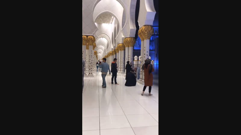 Мечеть шейха Зайеда в Абу-Даби