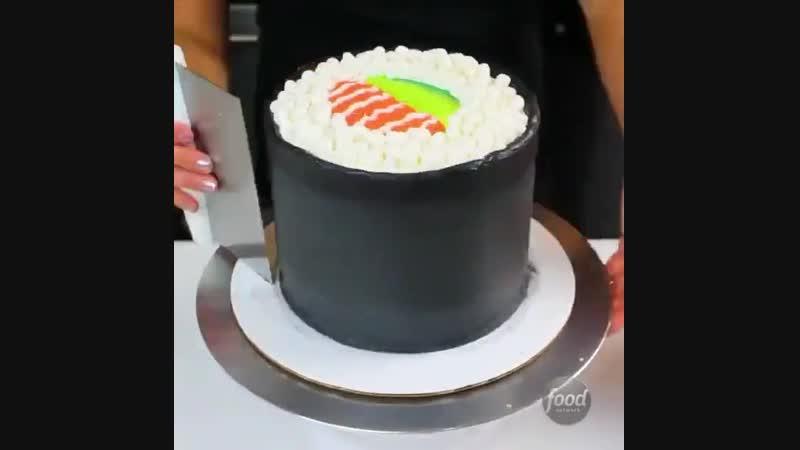 Сладкий тортик-ролл