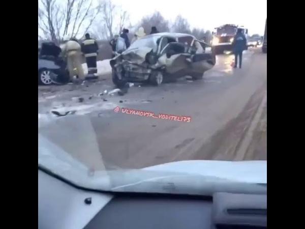 Смертельное ДТП в Мелекесском районе
