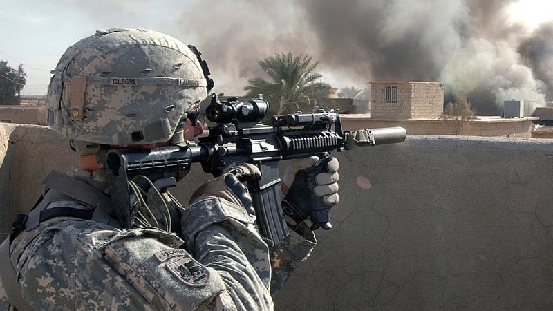 US Soldiers in Iraq. Rare Combat Footage - Intense Firefights Iraq War 2007