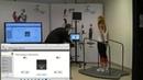 Практические занятия на стабилометрической платформе Alfa AC International, Польша