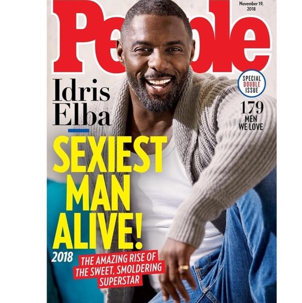 Идрис Эльба признан самым сексуальным мужчиной планеты: его реакция