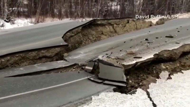 Magnitude 7.0 Earthquake Rocks Anchorage , Alaska november 30 , 2018 / 7.0 Землетрясение Аляски