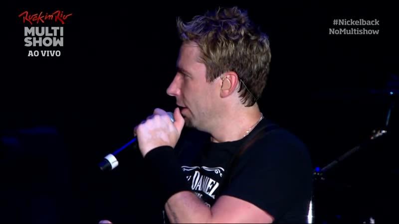 Nickelback - Rock in Rio V 2013