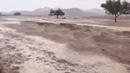 Intense Hailstorm Flooding in Saudi Arabia desert Dec 5 2018