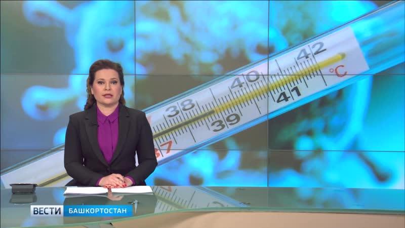Заболеваемость ОРВИ в Башкортостане приблизилась к ЭпидПорогу