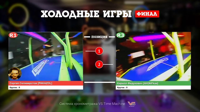Финал серии гонок Холодные игры Кирилл Федукович NiFkaa и Сергей Селиверстов PAKAZOL