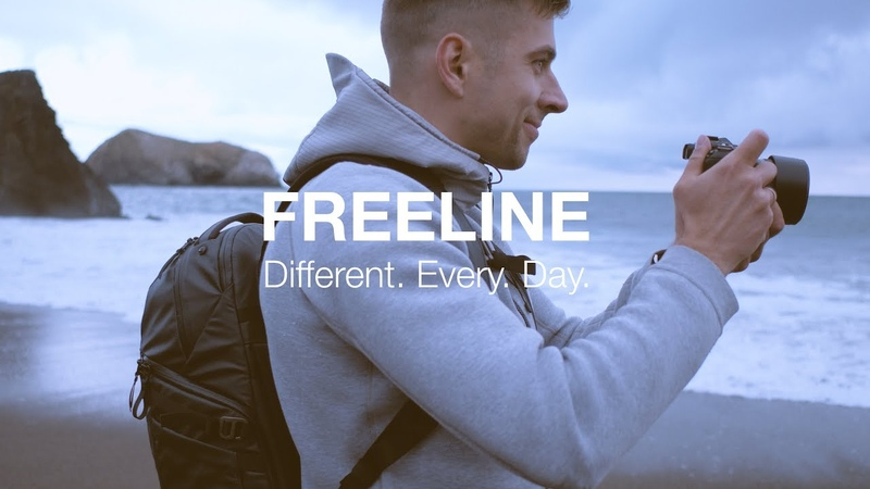 FreeLine Camera Backpack - Different. Every. Day. - Lowepro