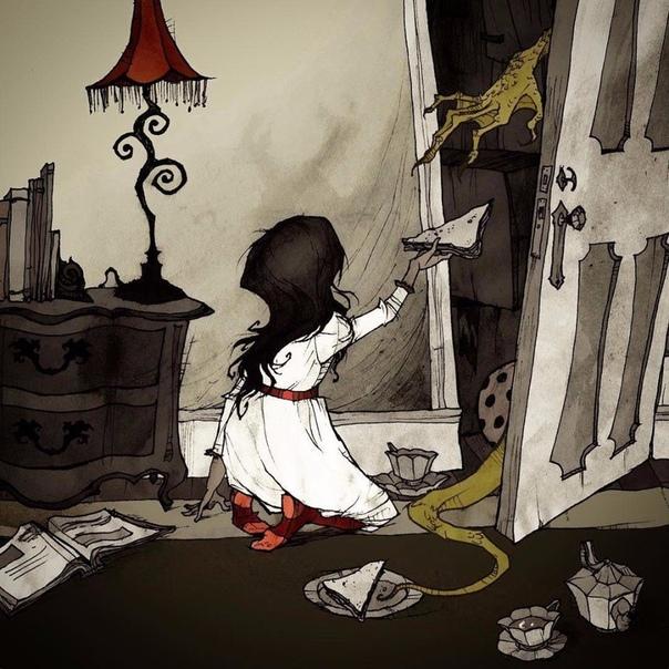 Тут кто-нибудь есть раздался голос маленькой Бетти, заглянувшей в огромный платяной шкаф. У-у-у-у-у-у-у! завыл кто-то страшный ей в ответ. Ой! Мама! Папа! Ой! Ой-ой-ой-ой-ой! прокричала девочка