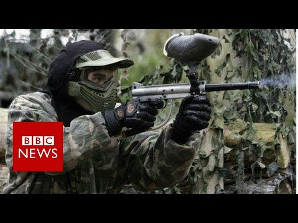 'I invented paintball to settle an argument' BBC News