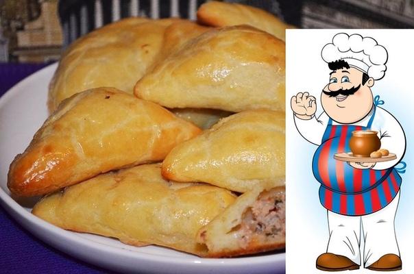 Пирожки хороши и с картошкой, и с горохом, и с капустой. Но лучше всего, по мнению мужской половины, с мясом! КОНВЕРТИКИ С МЯСОМ ИЗ ТВОРОЖНОГО ТЕСТА Ингредиенты - Мука 130 грамм - -творог 125