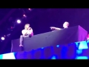 Jeremy Renner with @samfeldtmusic singing at Life is Beautiful music festival in Las Vegas