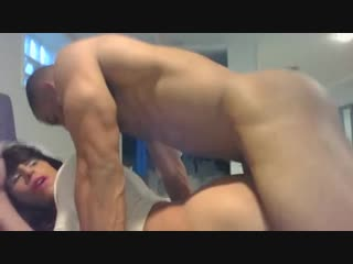 CD Nina Patron getting Fucked by Straight Guy with Girlfriend