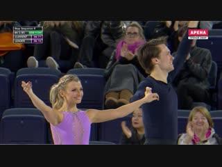 Skate Canada 2018. Pairs - SP. Kirsten MOORE-TOWERS / Michael MARINARO
