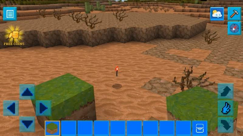 Промо видео - Realmcraft (Рилмкрафт) - Отпрыгивающие предметы