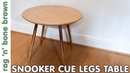 Snooker Cue Legged Coffee Table