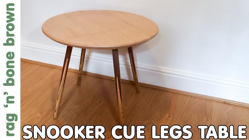 Snooker Cue Legged Coffee Table