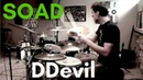 System Of A Down - DDevil drum cover( Kevin Wade)