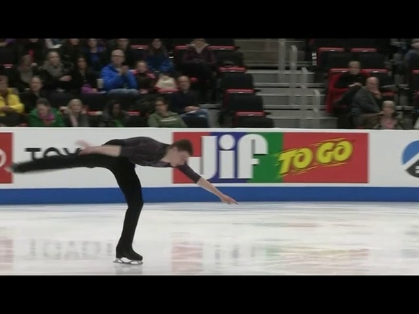 Ryan DUNK Short Program 2019 US Junior Figure Skating Championships