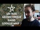 Un bug géométrique dans Google Map Micmaths