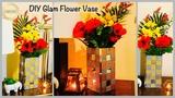Wow!! Unique &amp Glam Flower Vase gadac diy Home Decorating Ideas newspaper craft ideas diy crafts