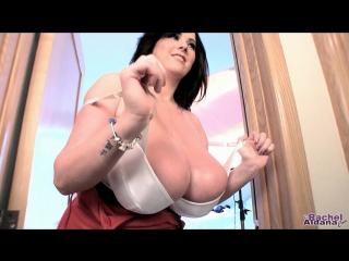 Rachel Aldana - Red Tank Top And White Bra 1 (2015.02.06)