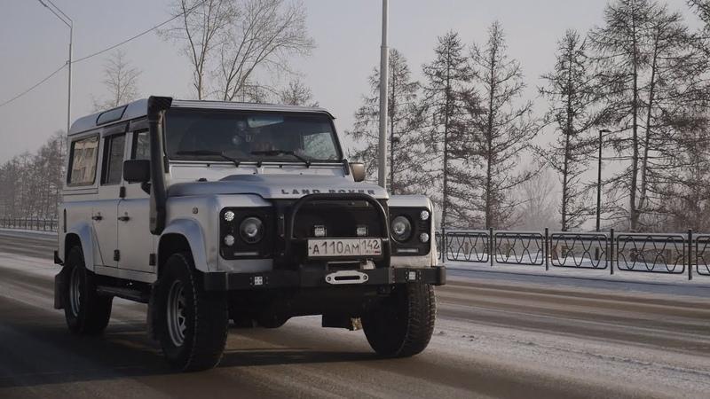 Британский УАЗИК Land Rover Defender