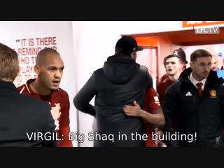 Big Shaq in the building