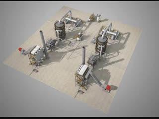 Установка производства серной кислоты