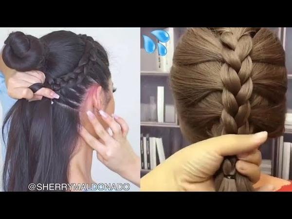PEINADOS DE MODA FÁCIL BONITOS 2018 ?? peinados para cabello largo o corto fácil bonitos 2018?