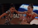 Arina and Dina Averins   Dazzle me   by Sasha Romahova
