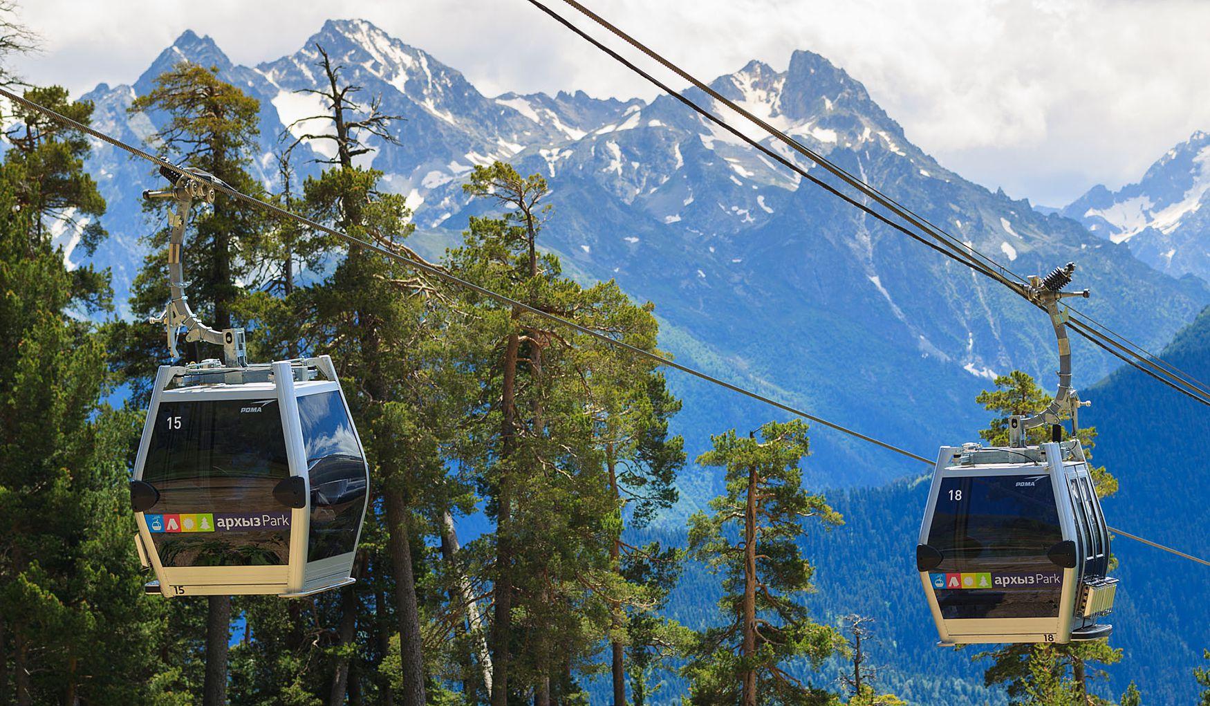На курорте «Архыз» откроются пять новых горнолыжных трасс