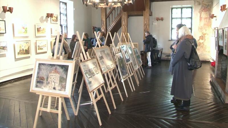 Выставка акварелей открылась в костеле святого Гиацинта