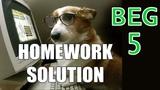 Homework 5 Beginner C++ Game Programming