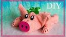 Как сделать поросёнка из полотенца | How to make a pig out of towel