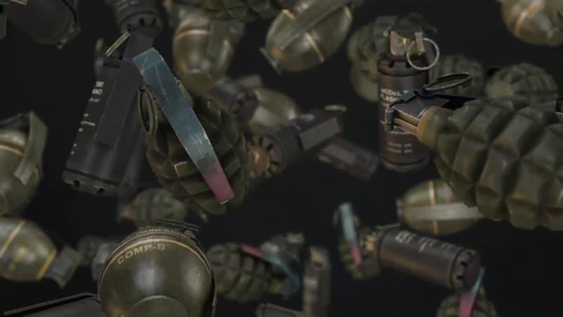 Вращение гранат Grenade Spin