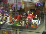 Мир LEGO. Интересная выставка представлена в центральной детской библиотеке.
