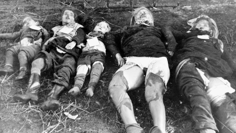 Völkermord am Deutschen Volk! 5 Millionen Hungertote zw. 1945-1950
