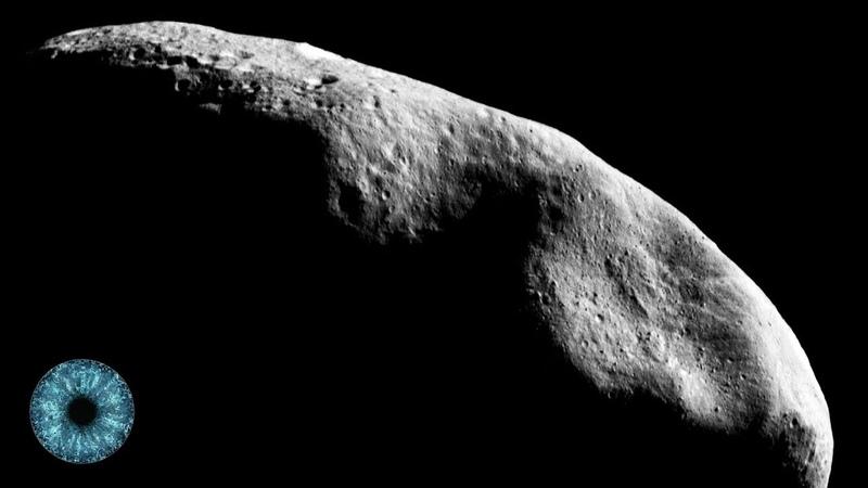 Raumstation in einem ausgehöhlten Asteroiden - Clixoom Science Fiction