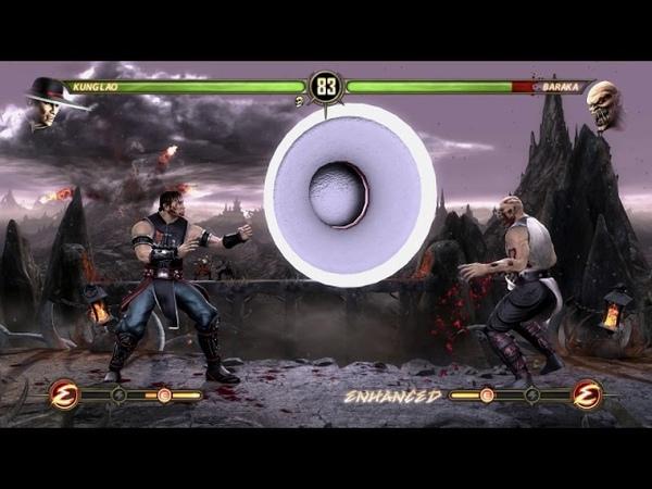 Кунг Лао против Бараки МК9